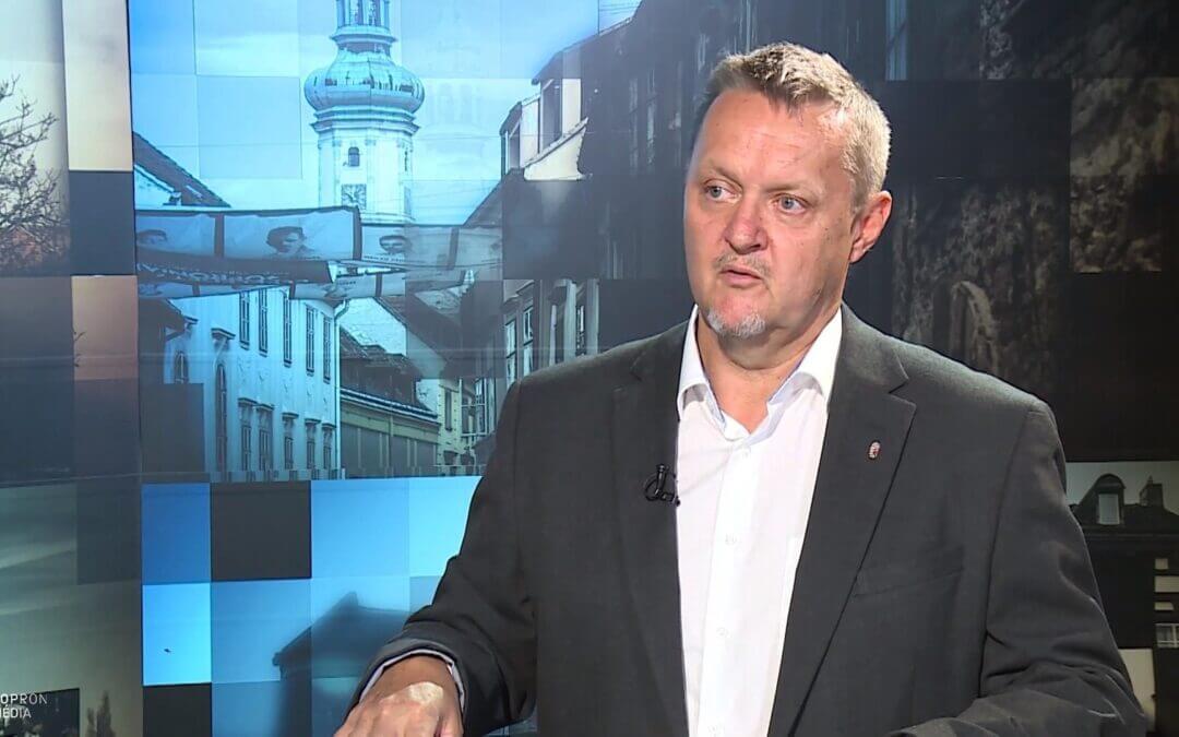 Hoczek László - Sopront választották a Kisalföldi Agrárszakképzési Centrum székhelyéül!
