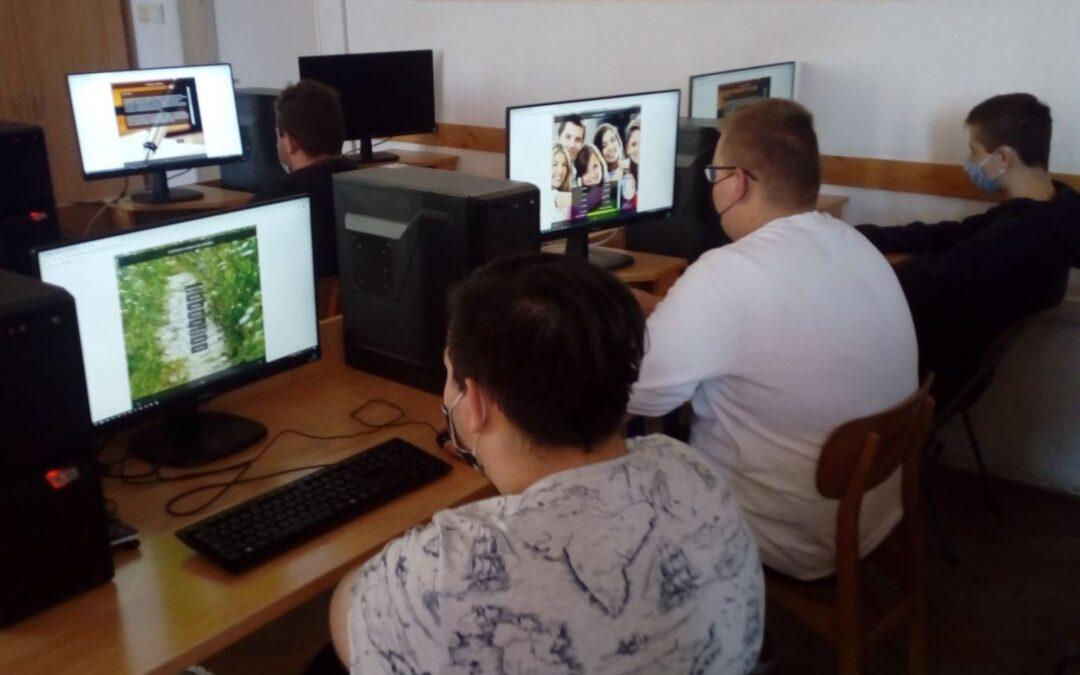 A Csukás technikum diákjai kutatási programban vettek részt