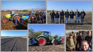 Gépbemutatóval egybekötött talajművelési szakmai nap a Jávorkában