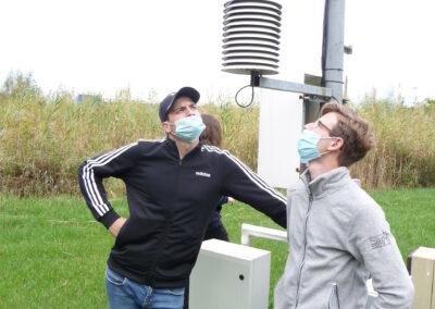 Meteorológiai megfigyelések gyakorlat keretében