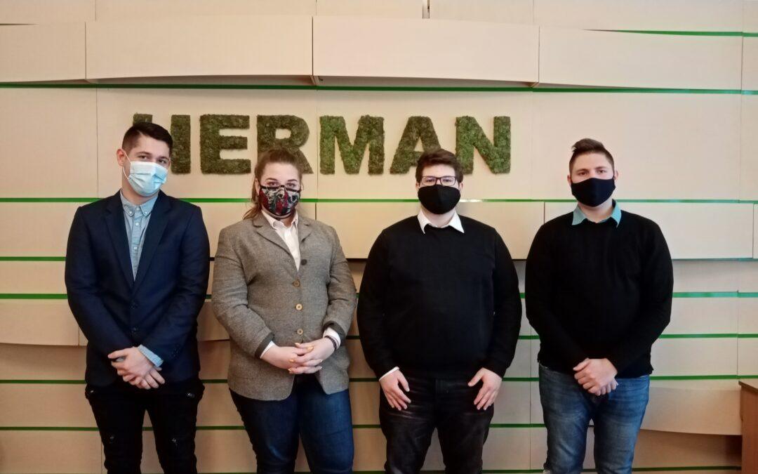Gratulálunk a Herman csapatának!