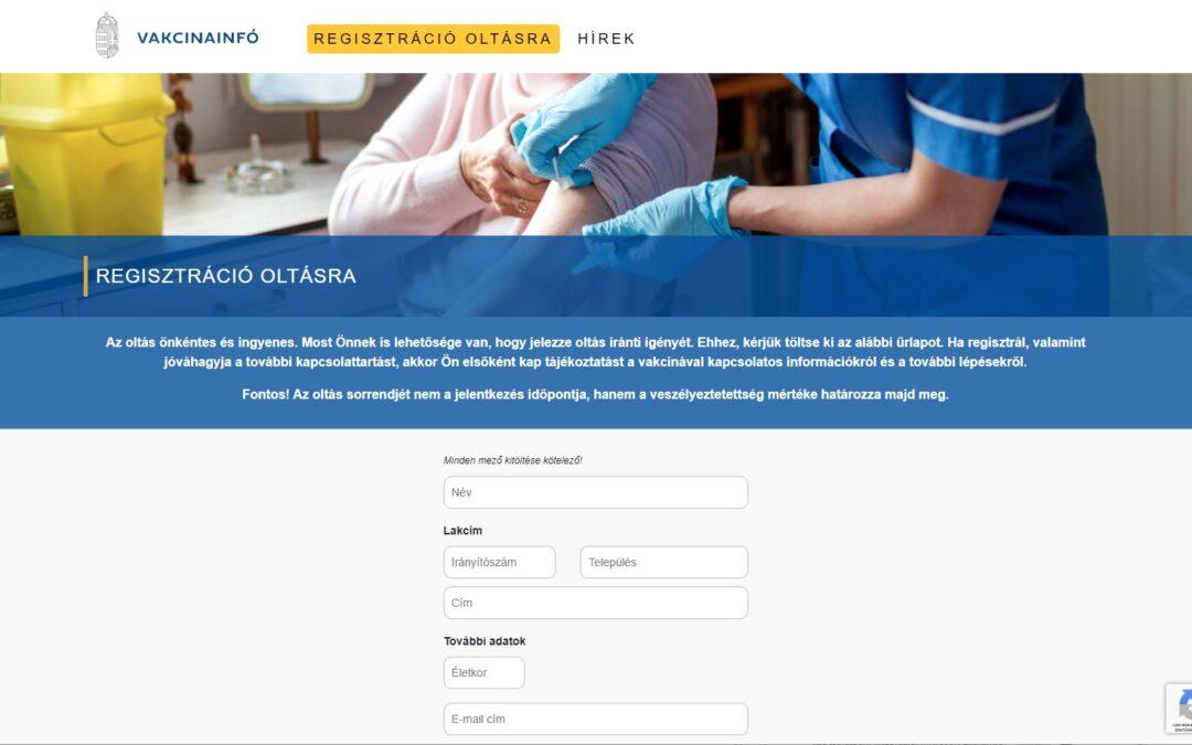 oltás vakcinainfo.gov.hu covid-19