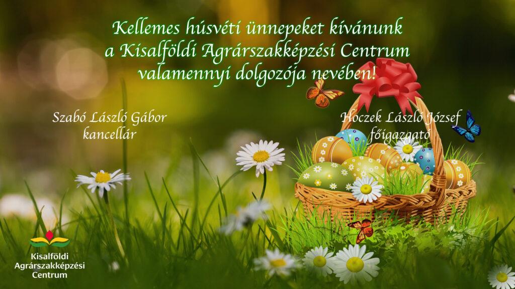 Kellemes húsvéti ünnepeket kívánunk kaszc