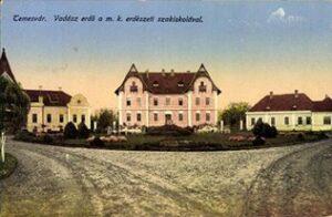 1. kép Temesvár-Vadászerdei iskola főépülete egykoron