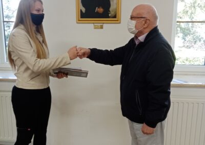 Böröczky Géza-díj átadása