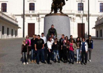 Vép-Tanulóink és a hurbanovoi iskola diákjainak közös kirándulásaSzlovákiában
