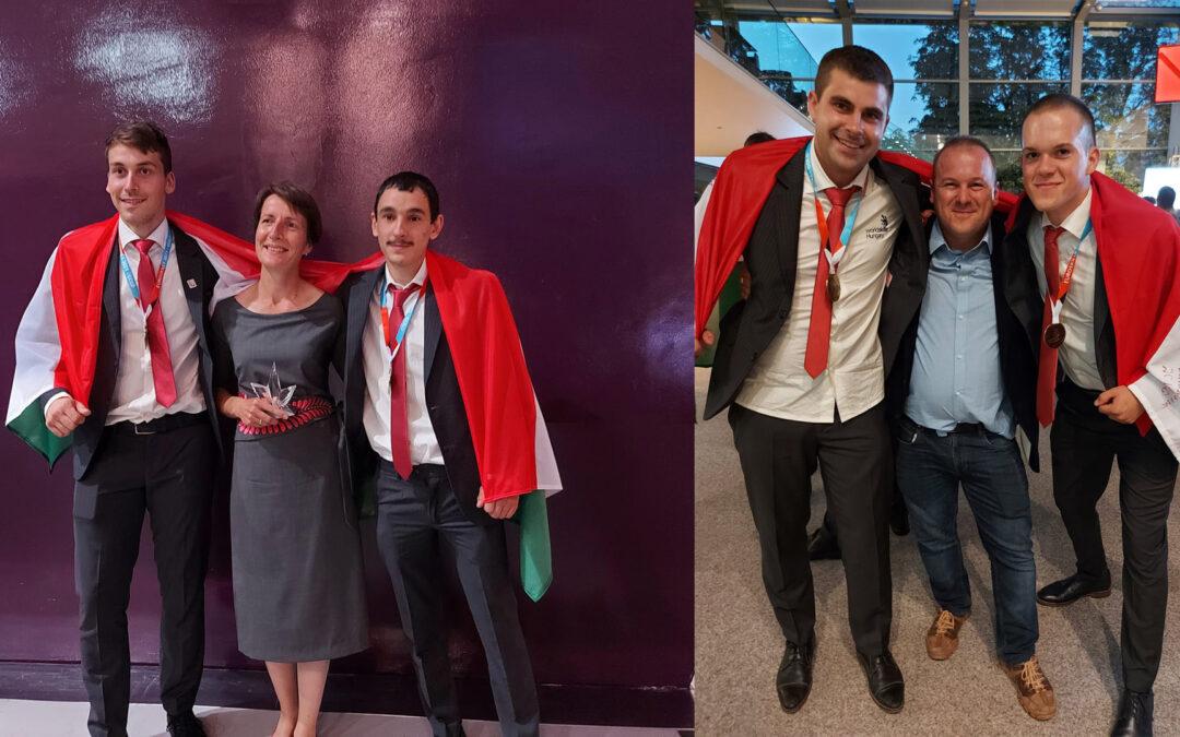 Kisalföldi ASzC-s sikerek a szakmák Európa-bajnokságán