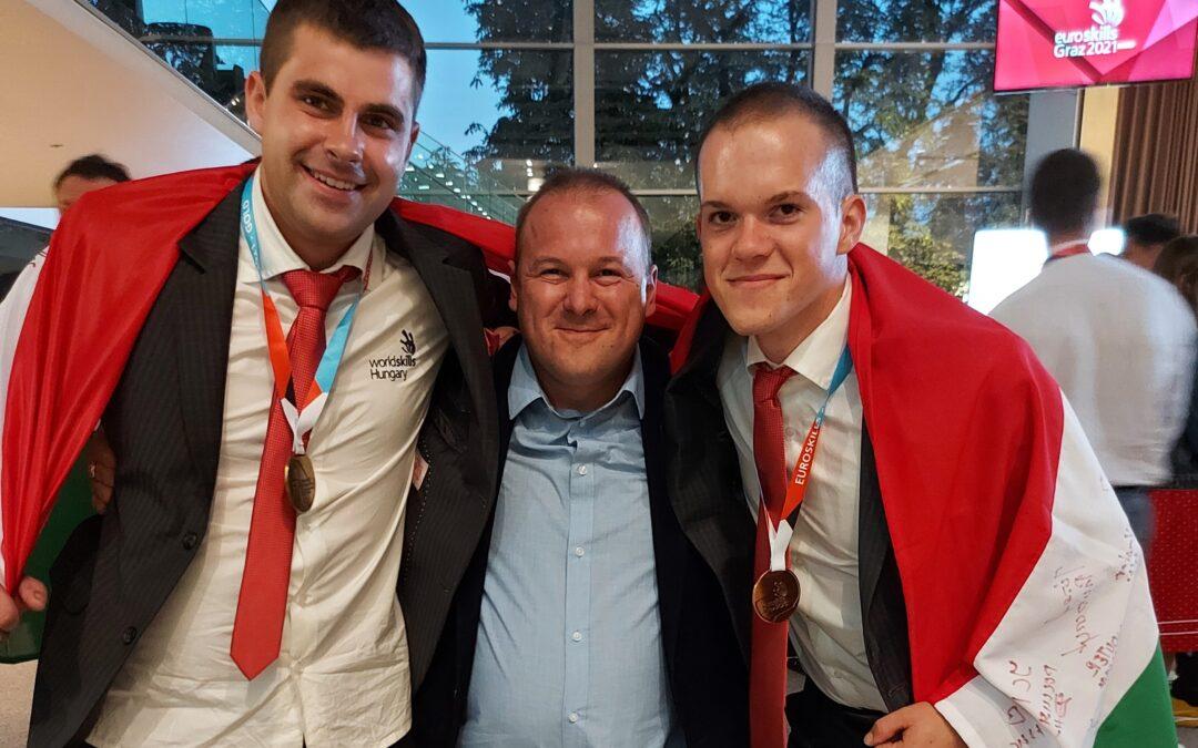 Rothos sikerek a szakmák európa-bajnokságán