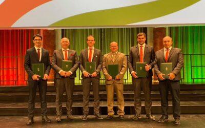 Kitüntetés az EuroSkills rothos részvevőinek